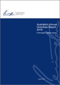 Australia-Annual-Overdose-Report-Cover