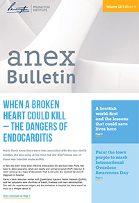 Anex Bulletin cover