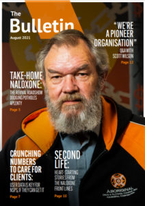 Front cover of August 2021 issue